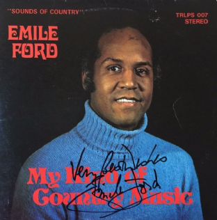 Emile Ford - My Kind Of Country Music (LP) (Signed) (VG-/VG-)
